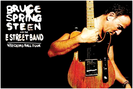 Bruce Springsteen and E Street Band - Wrecking Ball Tour