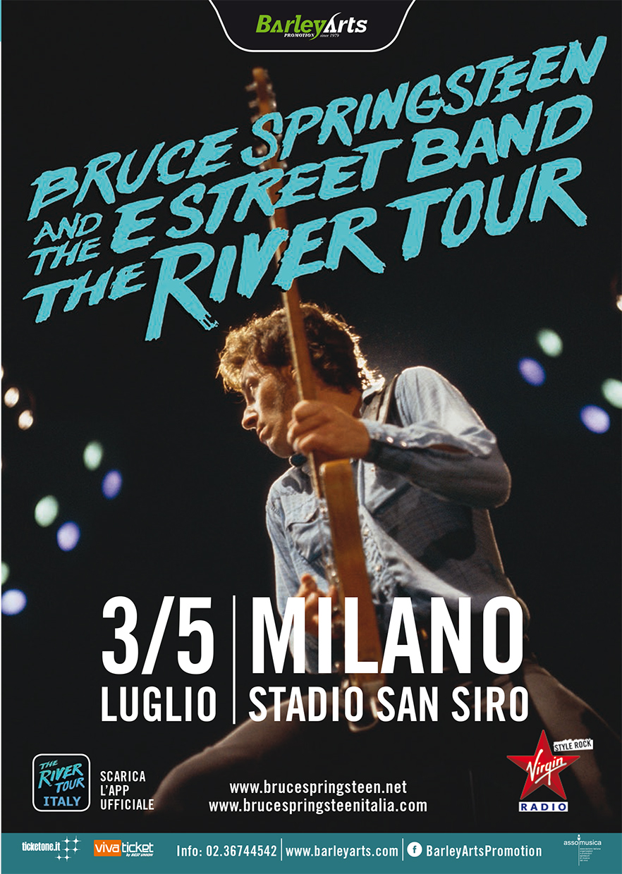 Bruce Springsteen e The E Stree Band - 3/5 Luglio Milano - Mappa Area
